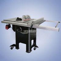 ZJMZYM 1500W Heavy Cast Iron 10 Inch Push Table Woodworking Saws DADO Slotting Tool