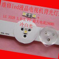 RUNHENGXIN LG LED LCD TV backlight lens 1W 3v 3528 2835 lamp beads cold white light