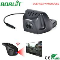 OUKEDA Universal Wifi Video Recorder Car Rear View Camera Windshield Night Vision