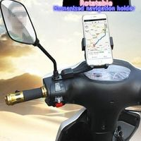 haoba navigator motorcycle gps holder moto fixed device fit for 4-7inch phone