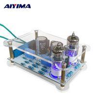 AIYIMA Amplifiers Audio DIY Kits 6J1 Bile Amplified Signal Tube Buffer Plate QJ015