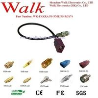 SZ.Walk FME female FAKRA rg174 cable gsm antenna