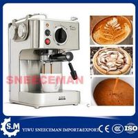 19 bar professional semi- automatic household coffee making machines stainless steel steam coffee pot milk coffee machine