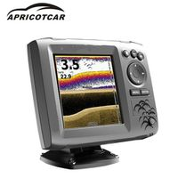 APRICOTCAR 5-inch Marine GPS High-resolution Brilliant Color Display Collection Sonar
