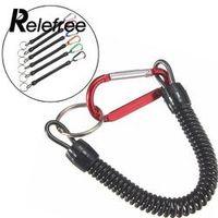 Relefree 5 Pcs/Lot Fishing Lanyards Rope Boating Kayak Camping Secure Plier Grip