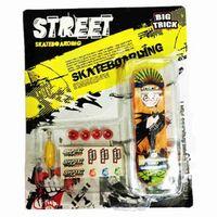 Puzzle Garden 3pcs/set Alloy Stand Finger Skateboard