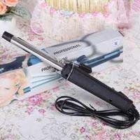 GUJHUI EU Plug Pro Volume Curl Curling Make Iron Stainless Steel Hair Curler Waver