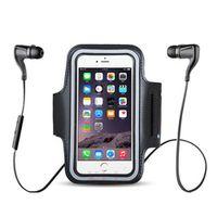 KLL mobile phone holder Waterproof Sport running Arm Band universal brassard
