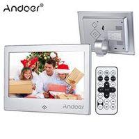 "Andoer 7"" LED Digital Photo Frame 720P Video/Music/Calendar/Clock/TXT Player 1024 *"