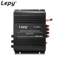 Lepy Wireless Bluetooth Subwoofer 2-channel HiFi Stereo Audio EU Plug Powerful Sound