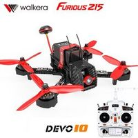 Walkera Furious 215 with DEVO 10 Transmitter RC Racing Drone with 600TVL Camera F3