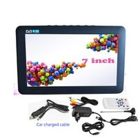LEADSTAR Portable DVB-T2 with HDMI input 7.0Inch car charged cable Digital Color TV