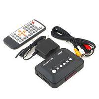 OXA 1Pcs 1080P HD SD/MMC Videos SD MMC RMVB MP3 Multi TV USB HDMI Media Player Box