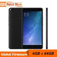 "Original Xiaomi Mi Max 2 4GB RAM 64GB 6.44"" Display Snapdragon 625 Octa Core Mobile Phone Max2 12.0MP 4K Camera IMX386 5300mAh"