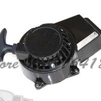pull starter Aluminum for 2 stroke 47cc 49cc air cooled mini pocket bike ATV dirt bike spare parts