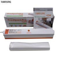 TUANSING Household Food Vacuum Sealer Packaging Machine Automatic Electric Film Food Sealer Vacuum Packer Including 15Pcs Bags