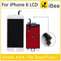 10PCS Grade AAA 4.7 inch high screen for iPhone 6 6G LCD display screen Replacement Lens Pantalla Touch Digitizer black white