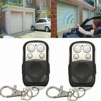 High Quality  5PCS 4 Button Electric Gate Garage Door Remote Control 270MHz~434MHZ Cloning Transmit