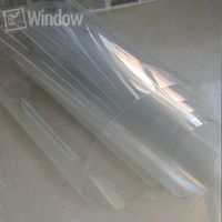 SUNICE 50cm x 3m 4mil Safety Security Window Film Clear Anti Shatter Prevent Paint