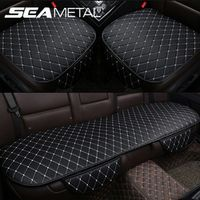 SEAMETAL Automobiles Seat Covers Car Cushion PU Leather Universal Auto Four Season