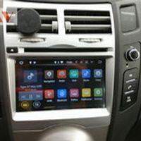 ZWNAV Android 7.1 6.0 5.1 Car Stereo Screen Radio For Toyota Yaris GPS Navigation