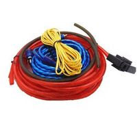 Car Audio Wire Wiring Amplifier Subwoofer  60W 4m length Professional Speaker Installation Wires Cables Kit