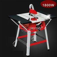 ZJMZYM Multifunction Woodworking M1H-ZP2-250 Push Plate Table Angle Cut Circular Saw