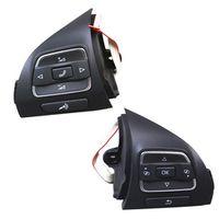 TUKE OEM Paire 5C0959537A 5C0959538B steering wheel Multifunction Button Pour VW
