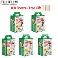 20-100 Sheets Fuji Fujifilm instax mini 9 films white Edge 3 Inch wide Camera