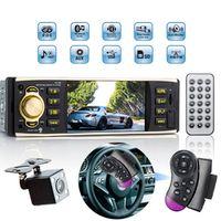 Viecar 1 Din Car Radio 4.1 inch Audio Stereo Bluetooth USB AUX FM Station