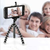HENCOOL Flexible Octopus For Phone With Phone Clip Tripod for iPhone 8 7 Camera