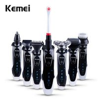 Kemei 7 in 1 Men's 3D Electric Shaver Rechargeable Face