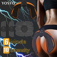 YOSYO Hip Muscle Stimulator ABS Fitness Butt Lifting Buttock Toner Trainer Slimming