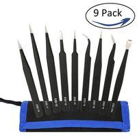 KALAIDUN 9 pcs ESD Tools Kit Precision Anti-static Set hand tools Repairing tools