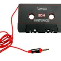 stictech 200pcs Car Tape Adapter Cassette Mp3 Player Converter For iPod For iPhone