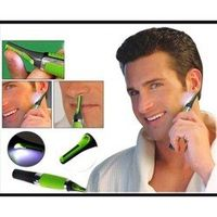 100pcs Multifunction Electric Nose Trimmer Build In LED Light Hair Ear Eyebrow