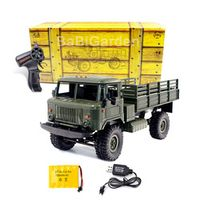 kidstime WPL B-24 GAZ-66 1/16 Military Truck 4 Wheel Drive