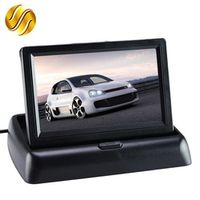 """Monitor 4.3"""" Display for Rear View Camera Foldable Color TFT LCD 4.3 Inch HD Screen"""