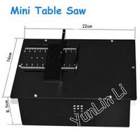 YunlinLi Mini Table Precision Woodworking Metal Cutting Machines Model Saws DC 12-24V