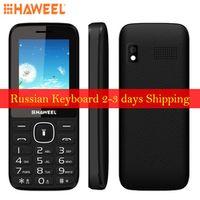 Haweel X1 Russian Keyboard Mobile Phone 2.4 inch 1500mAh Battery Dual SIM Super Big