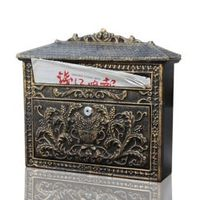 AIBOULLY European style retro villa mailbox water