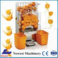 free shipping stainless steel commercial automatic orange juice machine/orange juicer making/orange squeezer