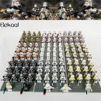 Bekool 13Pcs/Lot Star Wars Jedi Rogue/Utapau Clone Trooper