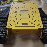 Hello Maker T300-M Golden Metal Tank Chassis Robbot Chassis