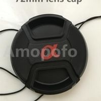 Hot Selling New for Sony AF 72mm lens cap, Center Pinch Snap-on Front Lens Cap to for sony AF Camera