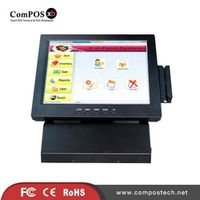 ComPOSxb Good Product All in One 12'' POS Terminal for Restaurant 12 Inch Resistive