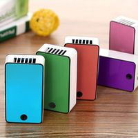 Liplasting Summer Car Travel Cooling Fan Mini Portable Cooler USB Rechargeable Desk