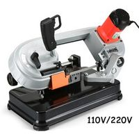 YunlinLi Multi-function variable speed mini metal / woodworking band saw household