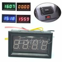 TCAM Motorcycle Accessory Car 12V/24V Dashboard LED Display