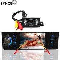 BYNCG 4.1 Inch 1 Din Video Mp5 Player Radio High-definition LCD Display Car Audio